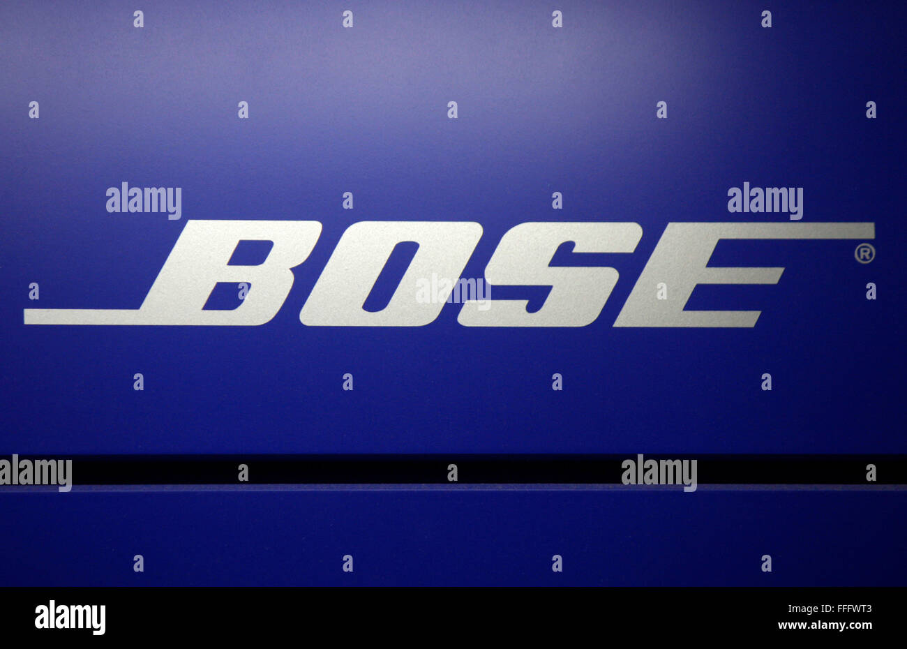 Markenname: 'Bose', Dezember 2013, Berlin. - Stock Image