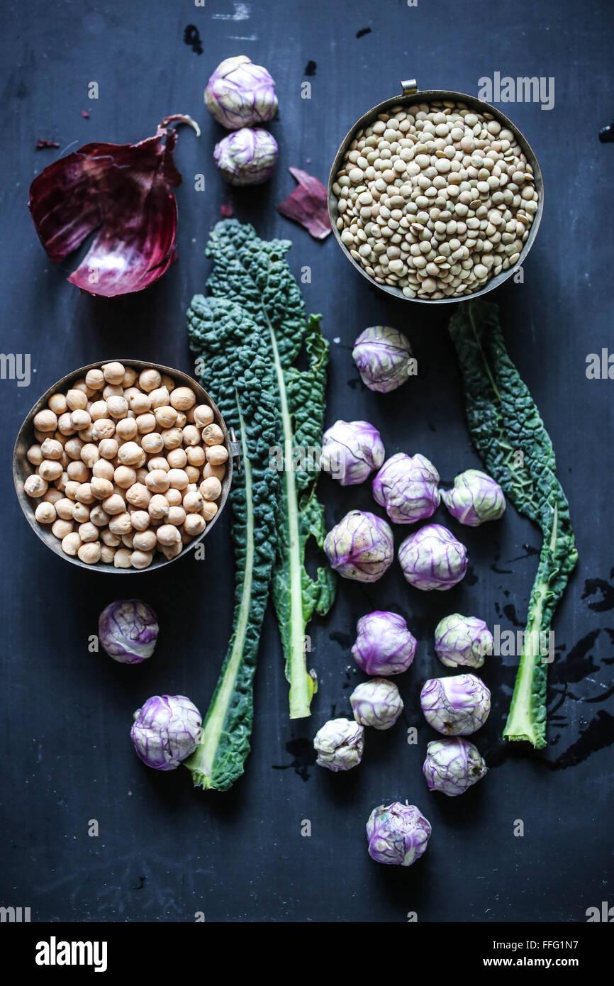 Ingredients - Stock Image
