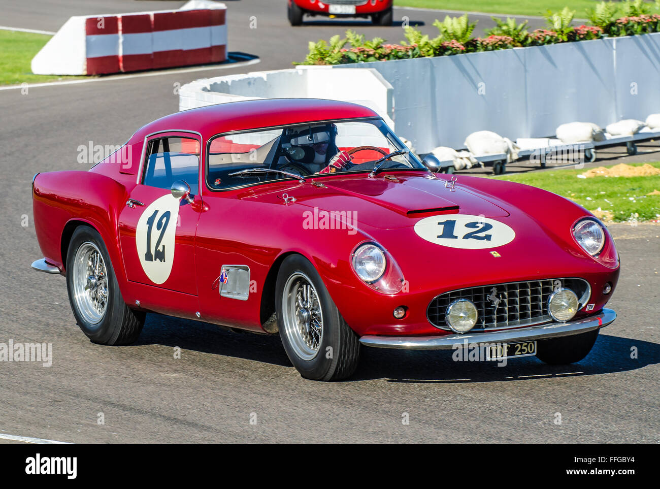 1958 ferrari 250 gt tour de france is owned by steve boultbee brooks stock photo 95632296 alamy. Black Bedroom Furniture Sets. Home Design Ideas