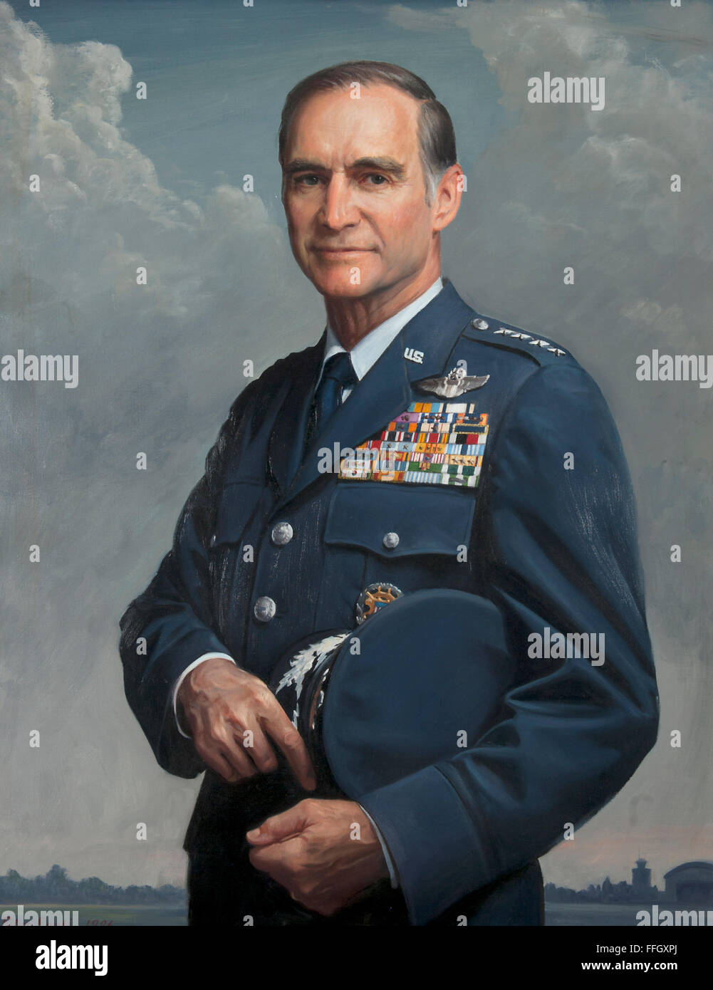 Charles A. Gabriel July 1, 1982 - June 30, 1986  Charles A. Gabriel, a USAF visionary, left two legacies from his - Stock Image
