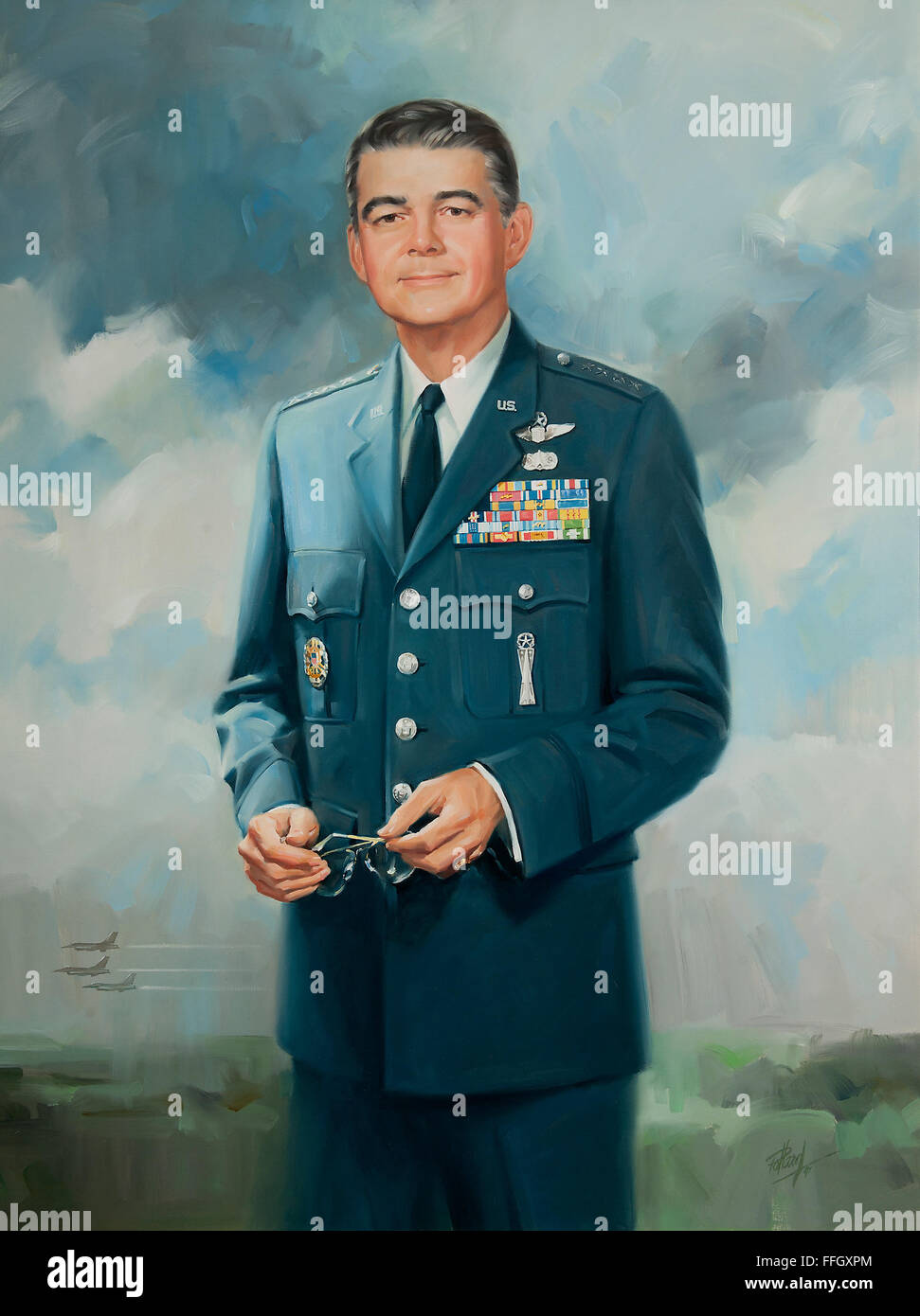 Michael J. Dugan July 1, 1990 - September 17, 1990  Michael J. Dugan graduated from the U. S. Military Academy in - Stock Image