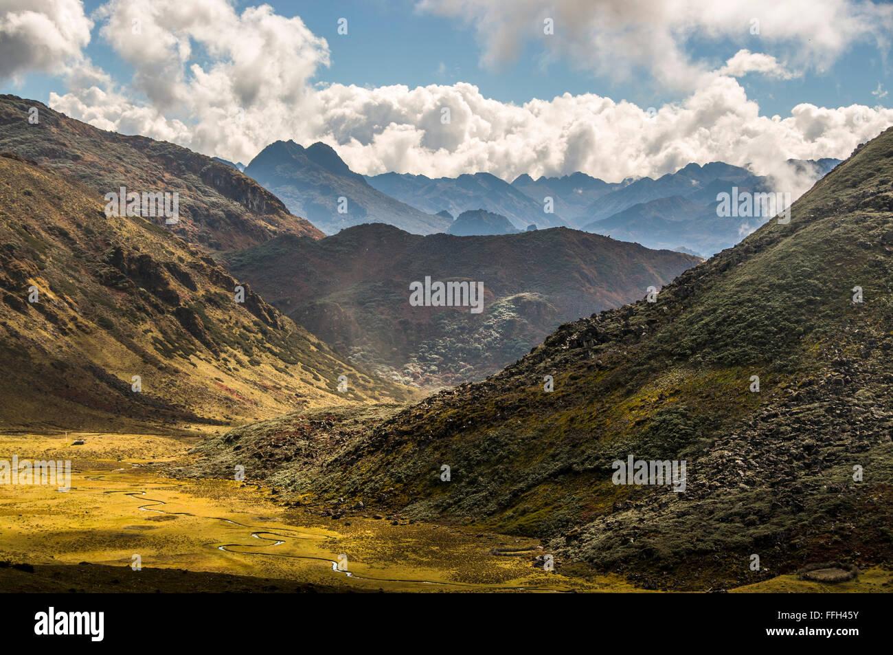 Himalayan landscapes - Stock Image