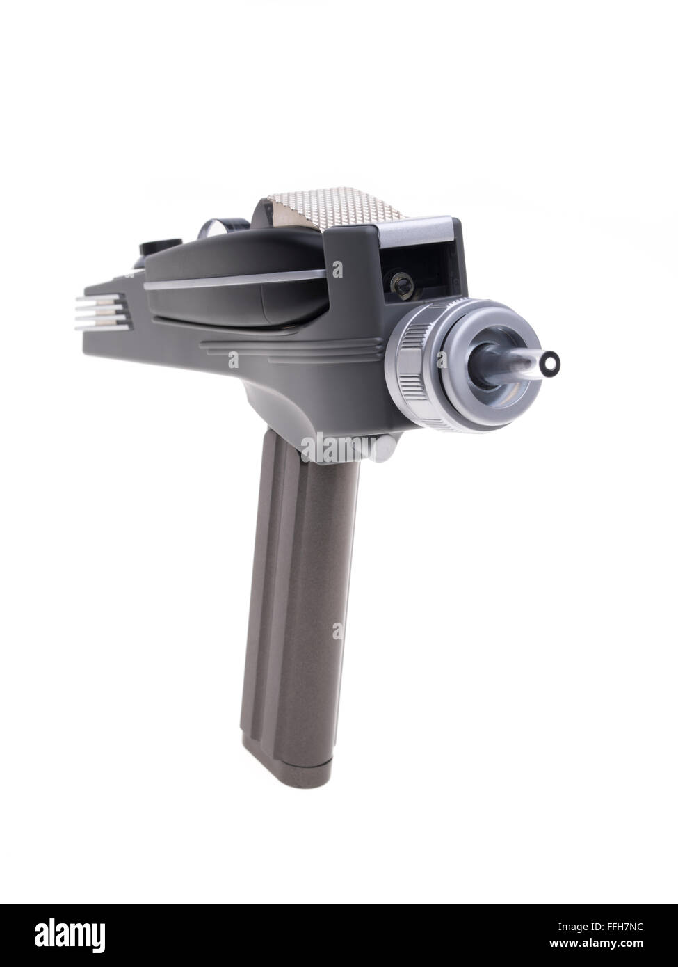 Star Trek the original television series 1966 phaser weapon able to kill or stun - Stock Image