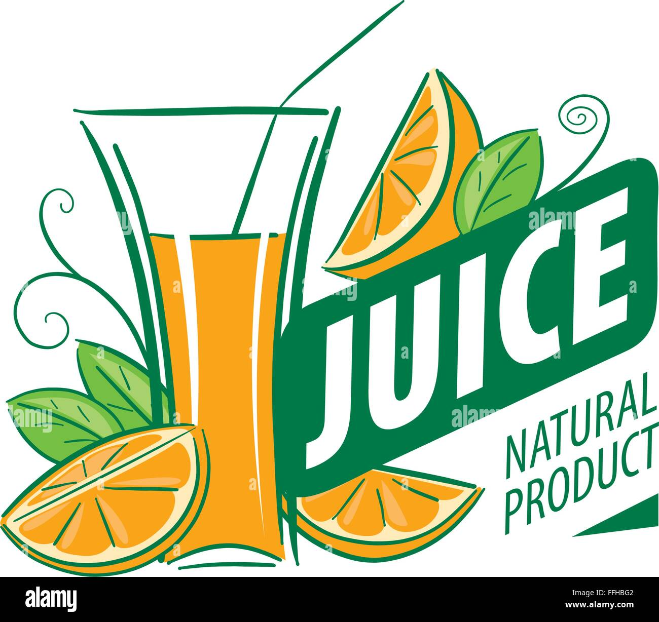 logo of fresh juice stock vector image art alamy https www alamy com stock photo logo of fresh juice 95653938 html