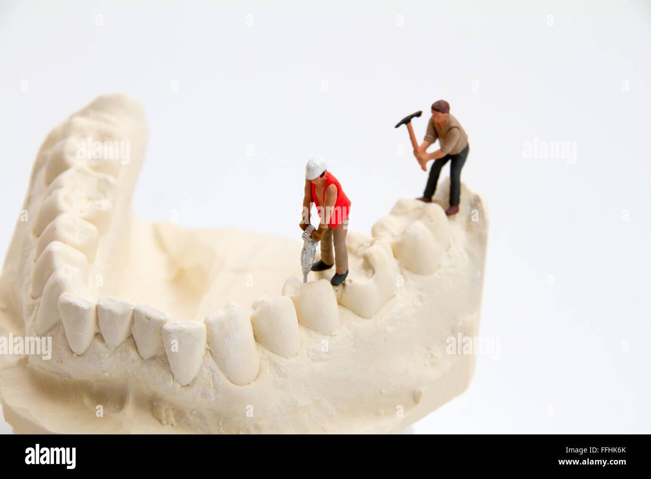 Dental Construction Stock Photo