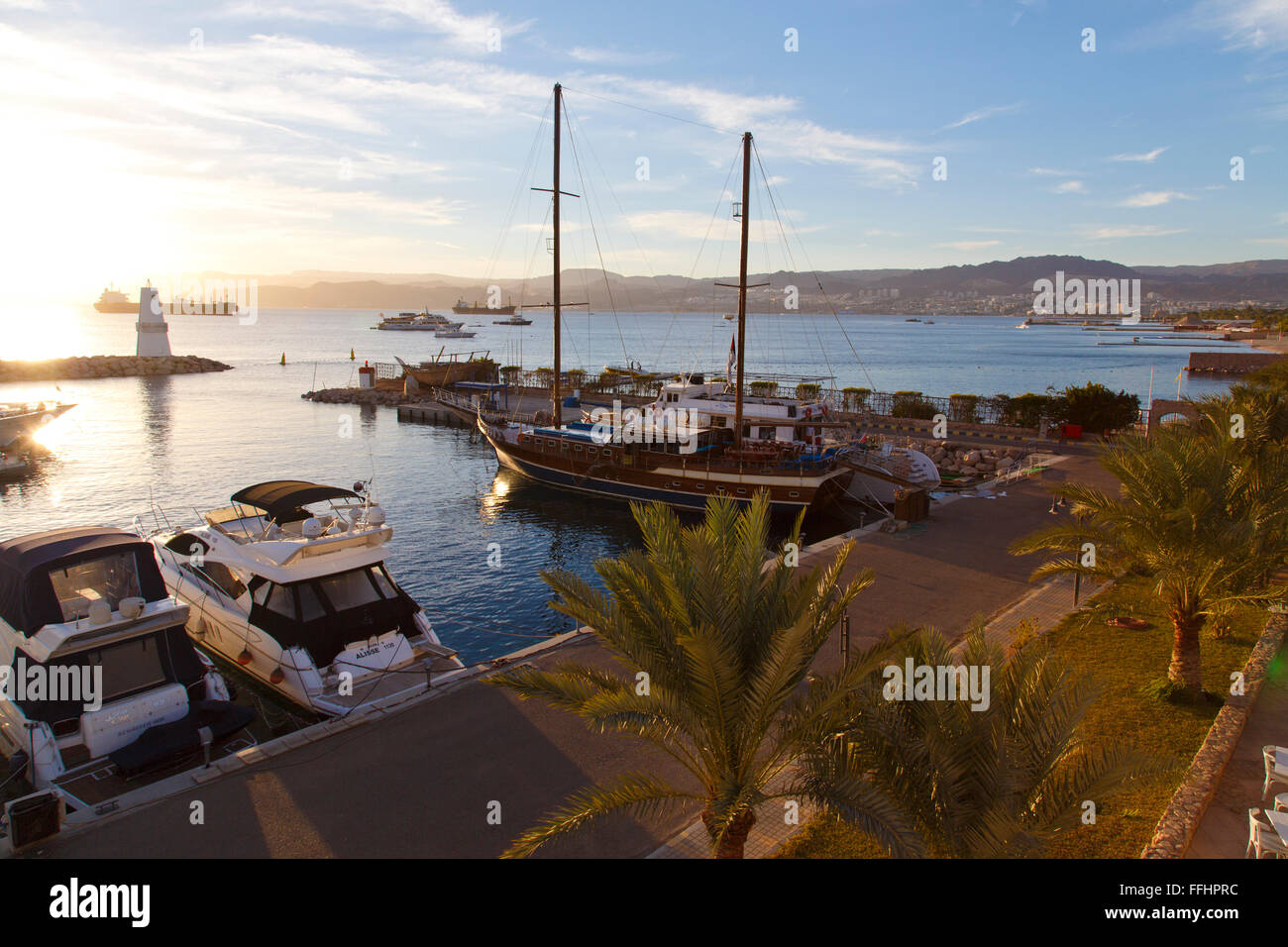 The gulf of Aqaba , by the red sea - Stock Image