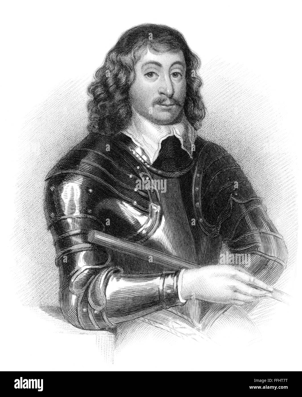 Spencer Compton, 2nd Earl of Northampton, Lord Compton, 1601-1643, an English soldier and politician - Stock Image