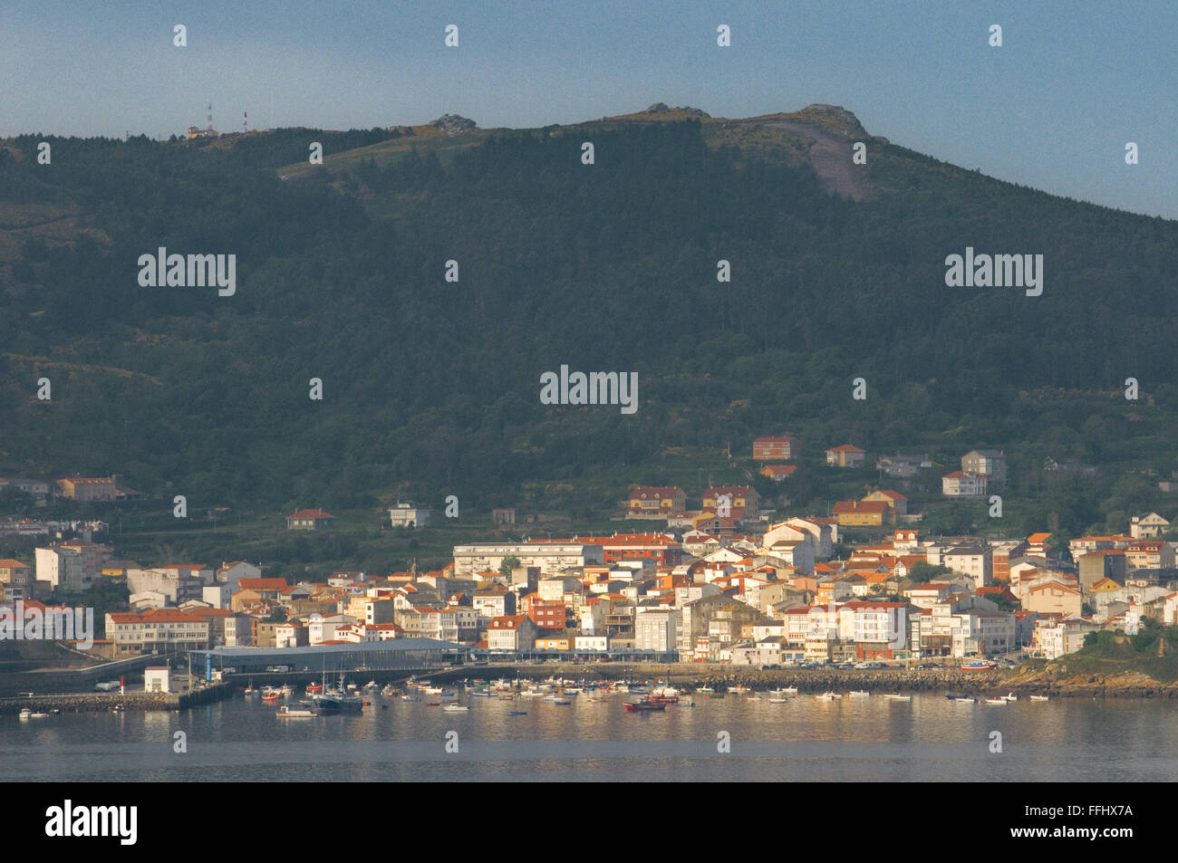 Way of St. James, Jacobean Route. Fisterra. Finisterre, A Couruña. St. James's Way, St. James's Path, - Stock Image