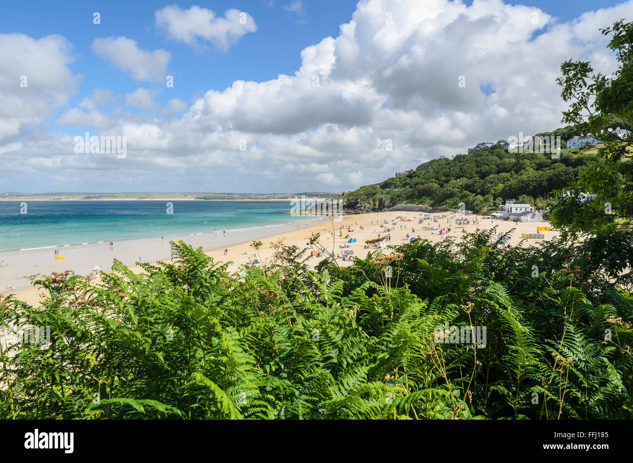 Portminster Beach, St Ives, Cornwall, England, United Kingdom. Stock Photo