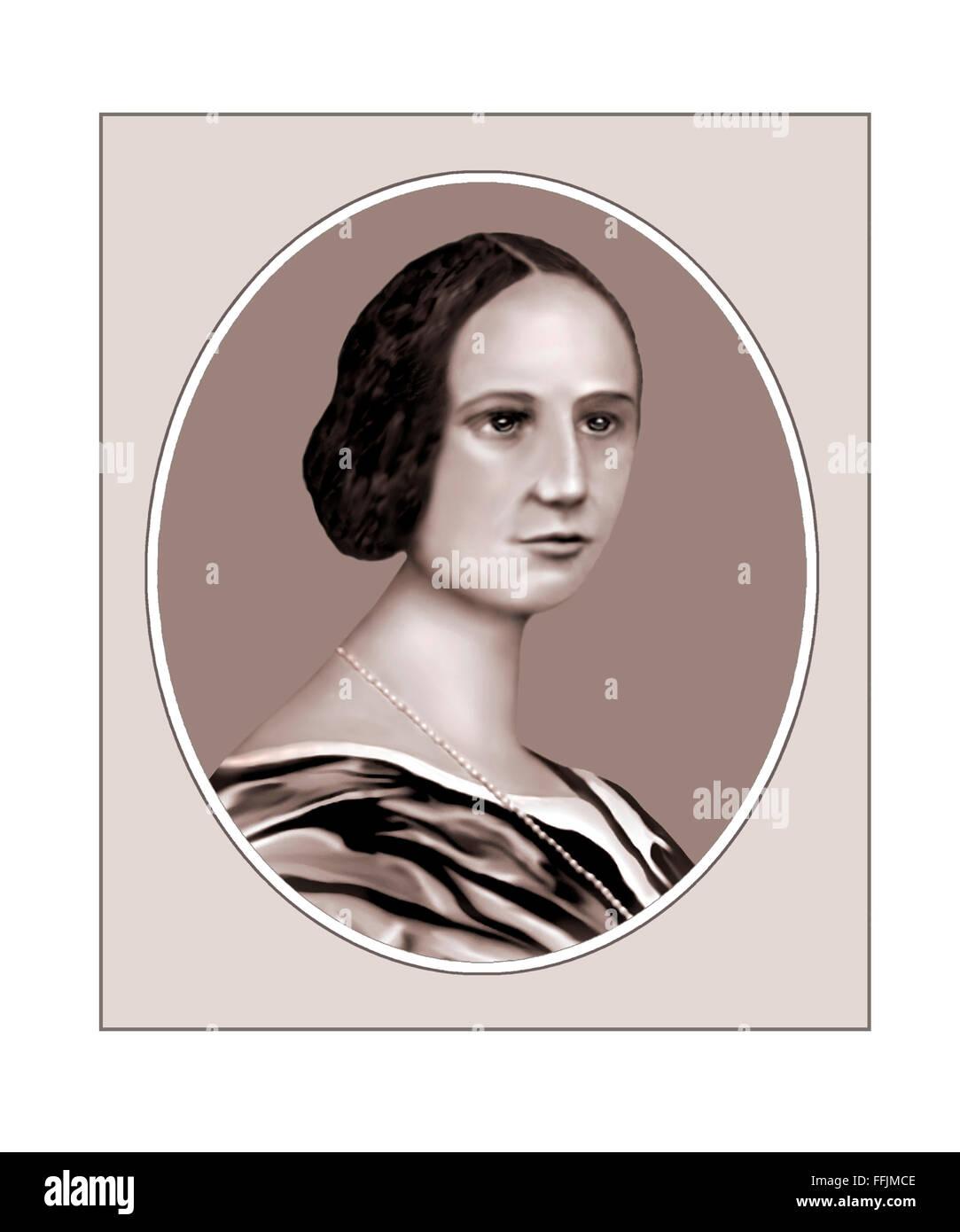 Ada Lovelace, Mathematician, Portrait - Stock Image