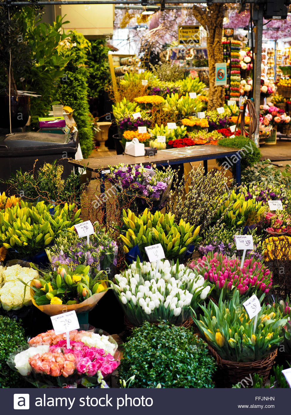 Flower Market Amsterdam Stock Photos Amp Flower Market