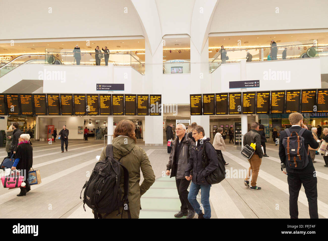 Birmingham New Street Station On Stock Photos & Birmingham New