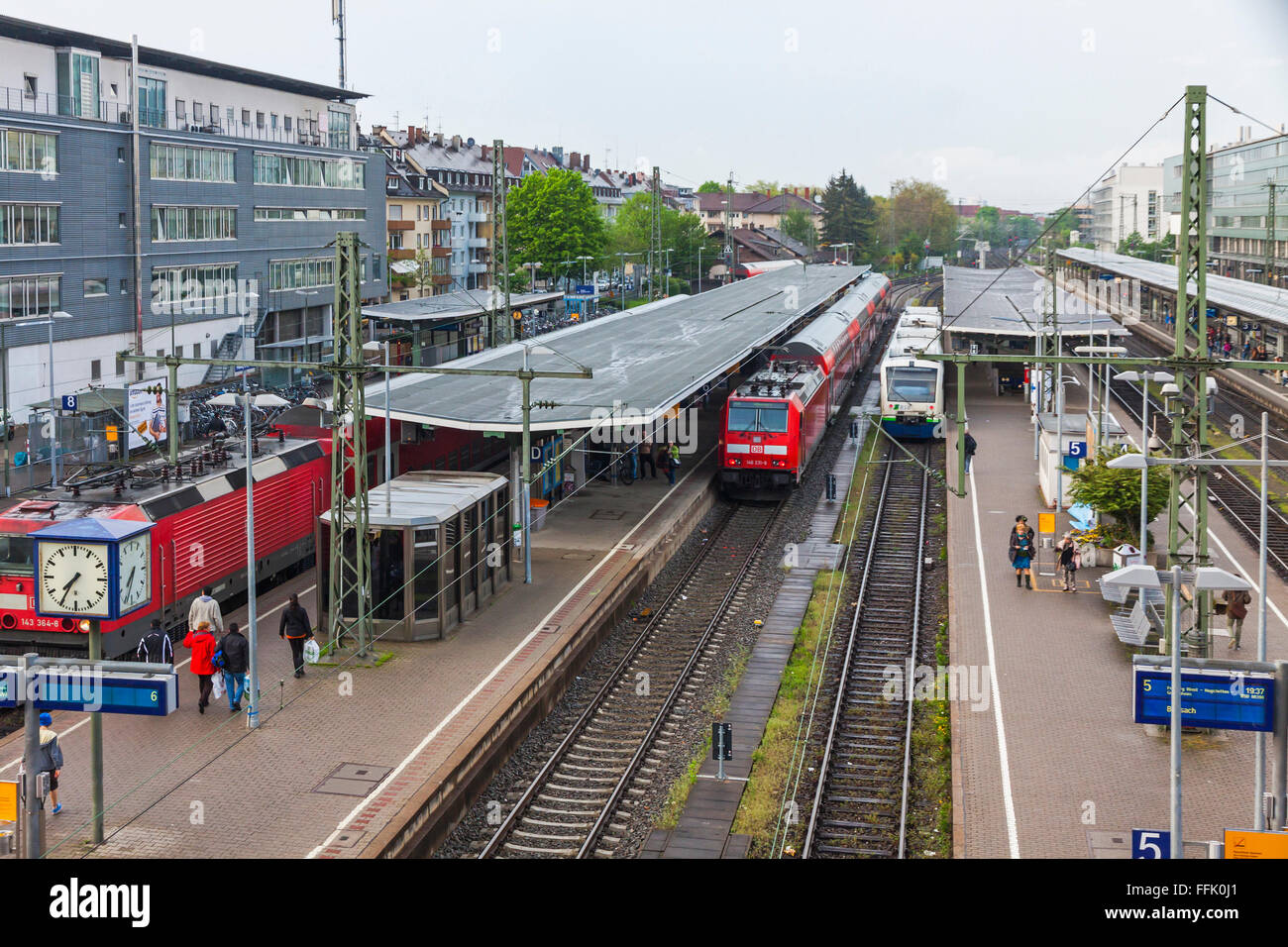 Freiburg Station Stock Photos Freiburg Station Stock Images Alamy