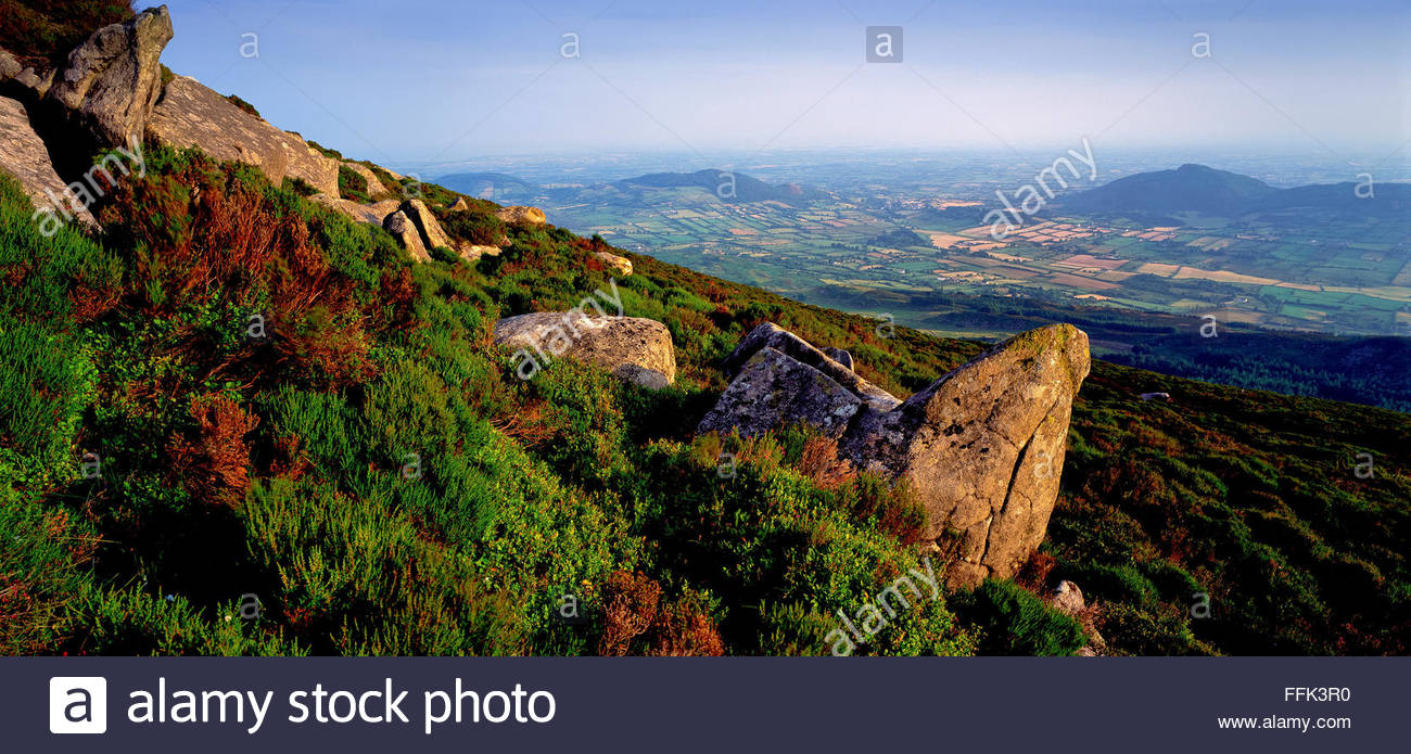 Slieve Gullion, Co.Armagh Ring of Gullion Armagh South Armagh - Stock Image