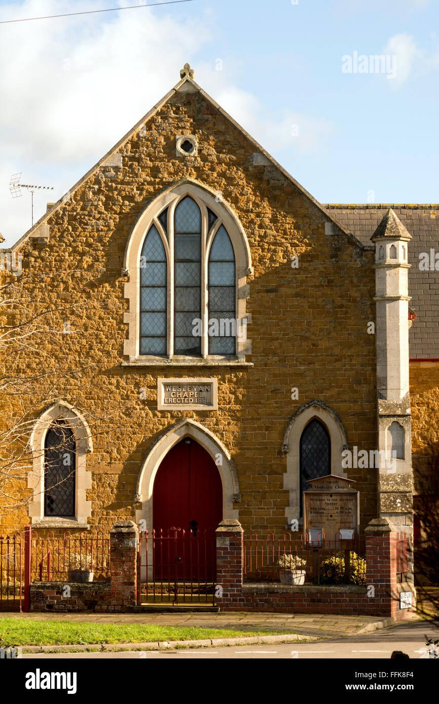 The Methodist Chapel, Cropredy, Oxfordshire, England, UK - Stock Image