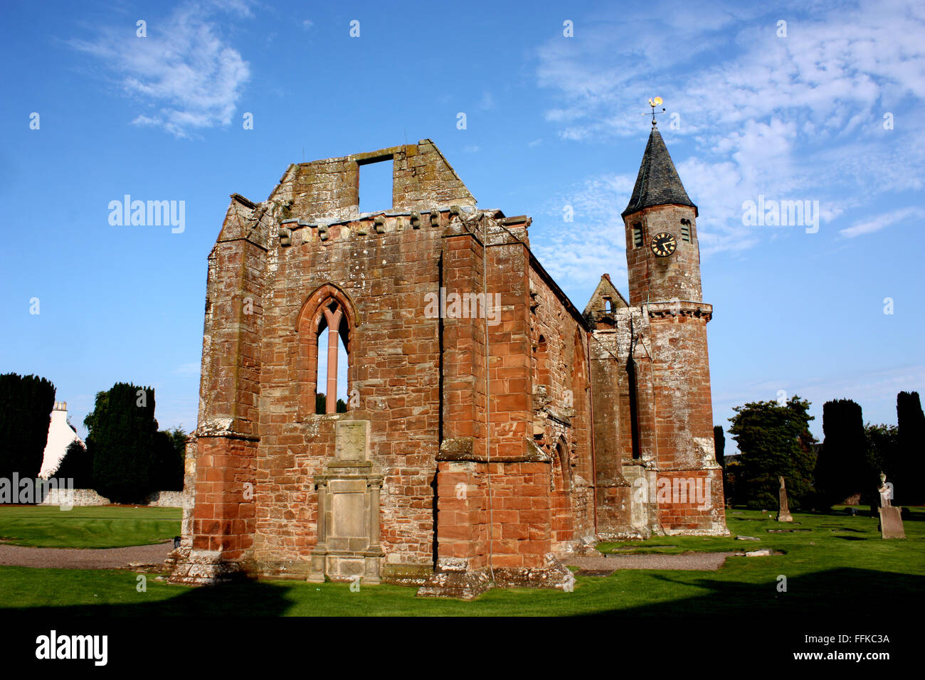 Fortrose Cathedral on the Black Isle, near Inverness - Stock Image