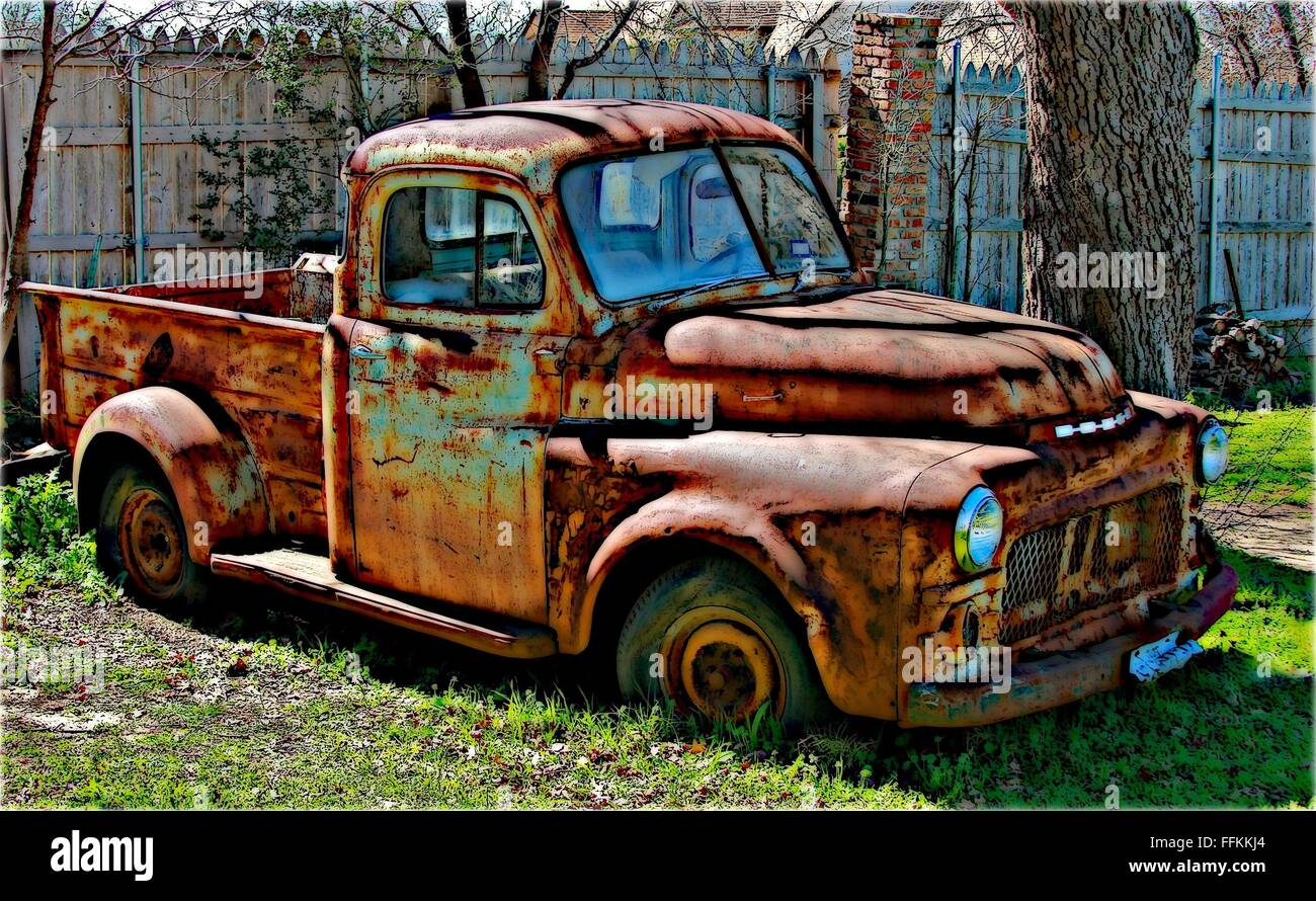 Old Rusty Dodge Truck Stock Photo 95704172 Alamy