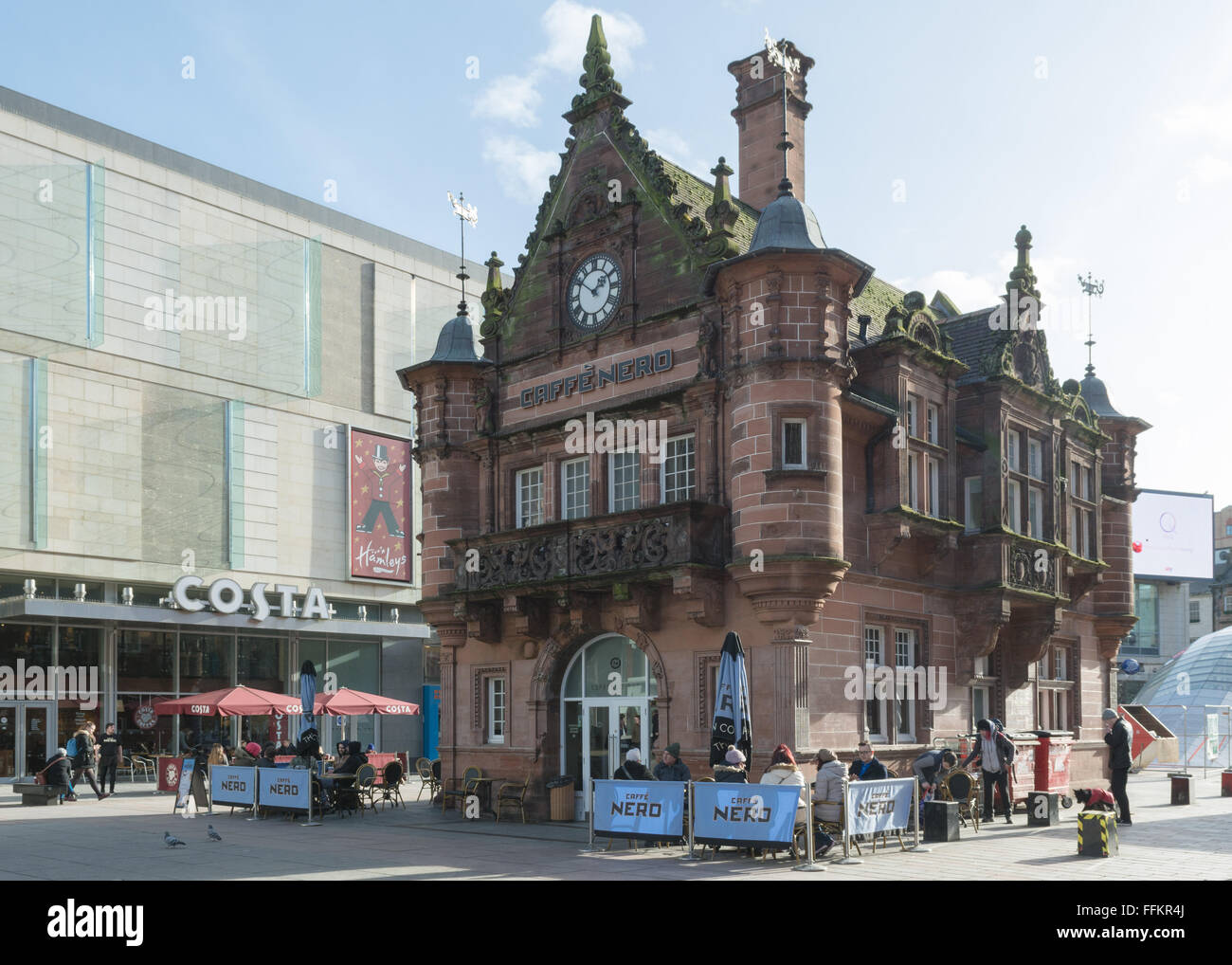 Caffe Nero Coffee Chain In The Former St Enoch Subway