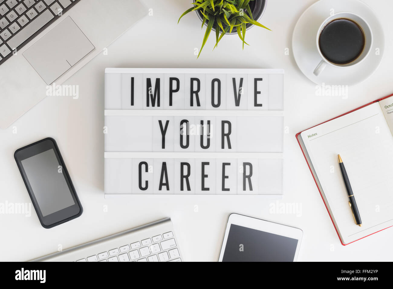 Improve your career concept - Stock Image