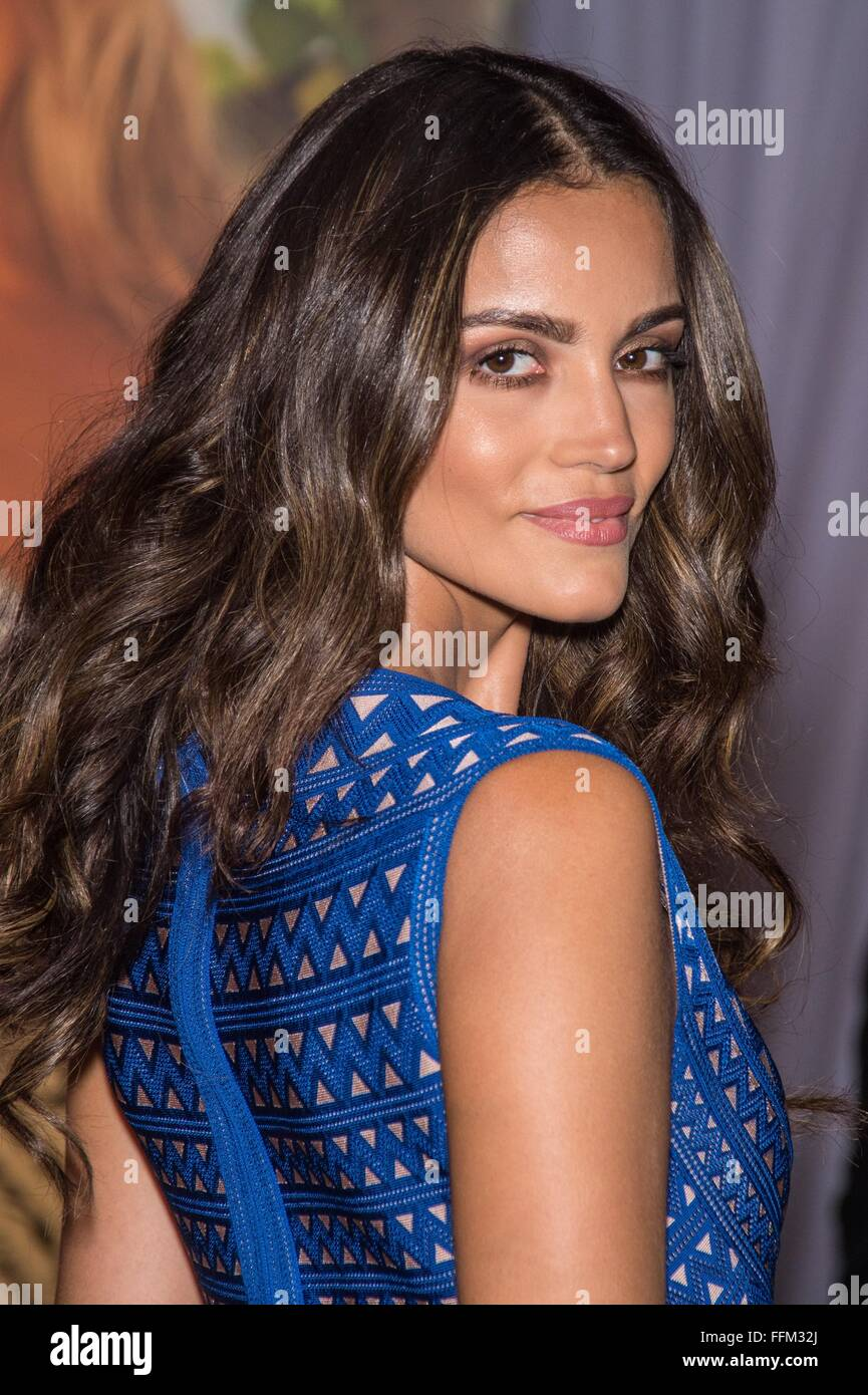 Sofia Resign in attendance for Sports Illustrated Celebrates Swimsuit 2016 Swim City, Altman Building, New York, - Stock Image