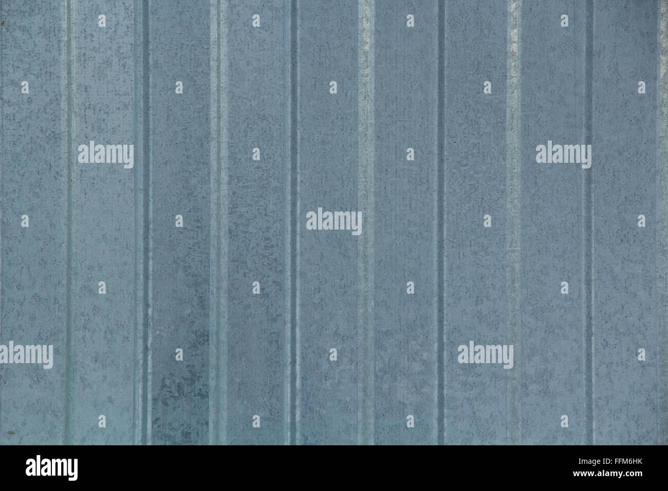 texture of galvanized sheet metal - Stock Image