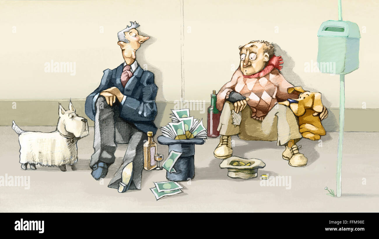 rich and poor stock photos rich and poor stock images alamy