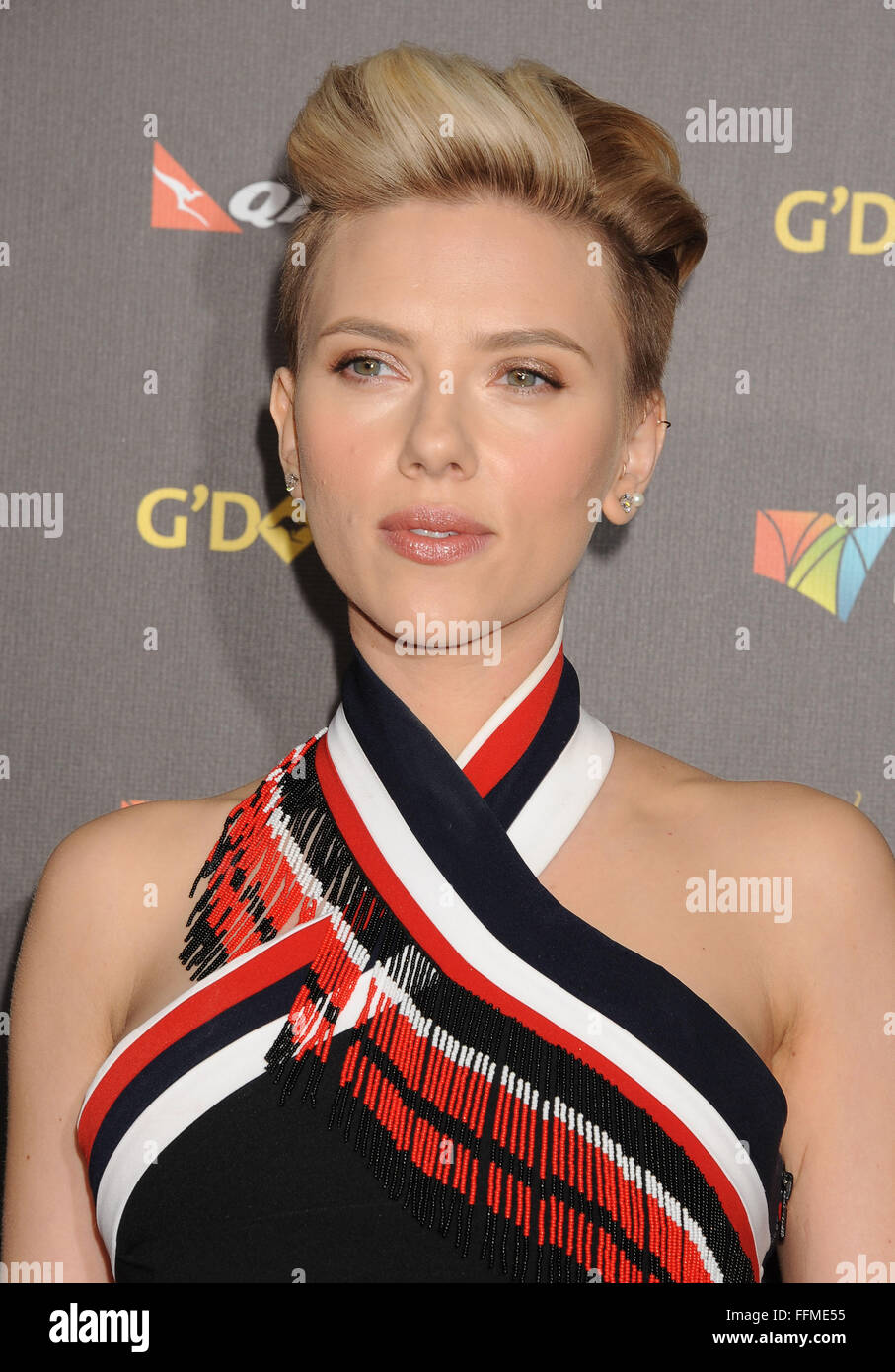 e2c77ae59be Actress Scarlett Johansson attends the 2015 G Day USA Gala featuring the AACTA  International Awards