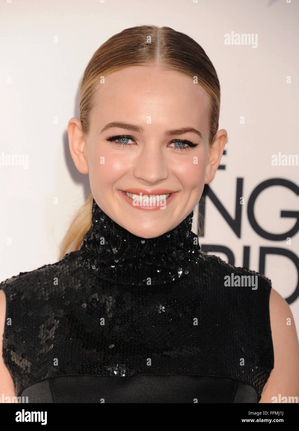 "Actress Britt Robertson attends the premiere of Twentieth Century Fox""s ""The Longest RIde"" at the TCL Chinese Theatre Stock Photo"