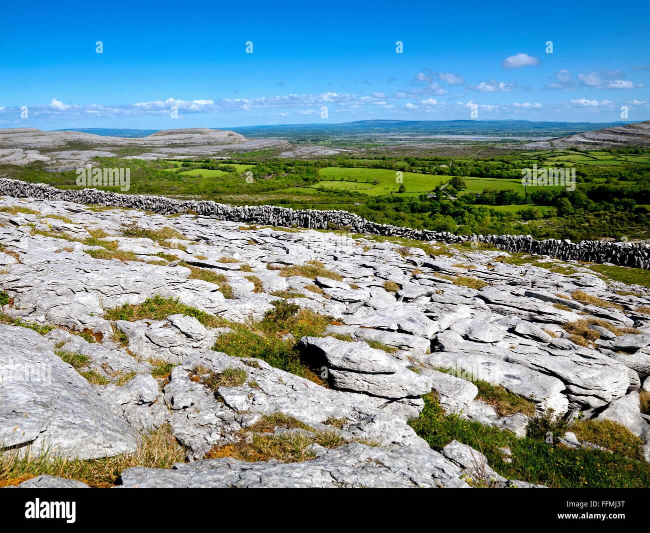 the Burren, Clare - Stock Image
