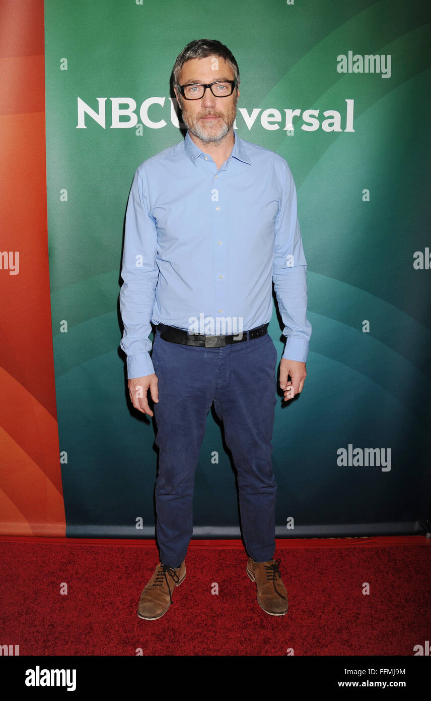 Actor Vincent Regan attends the 2015 NBCUniversal Summer Press Day held at the The Langham Huntington Hotel and - Stock Image