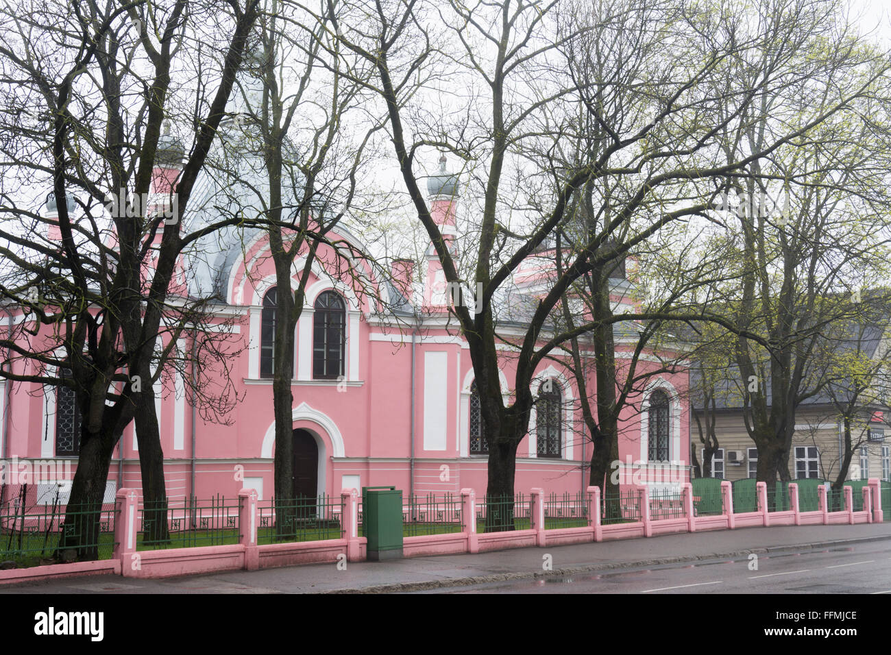 Old Believer´s Church in Tartu Estonia - Stock Image