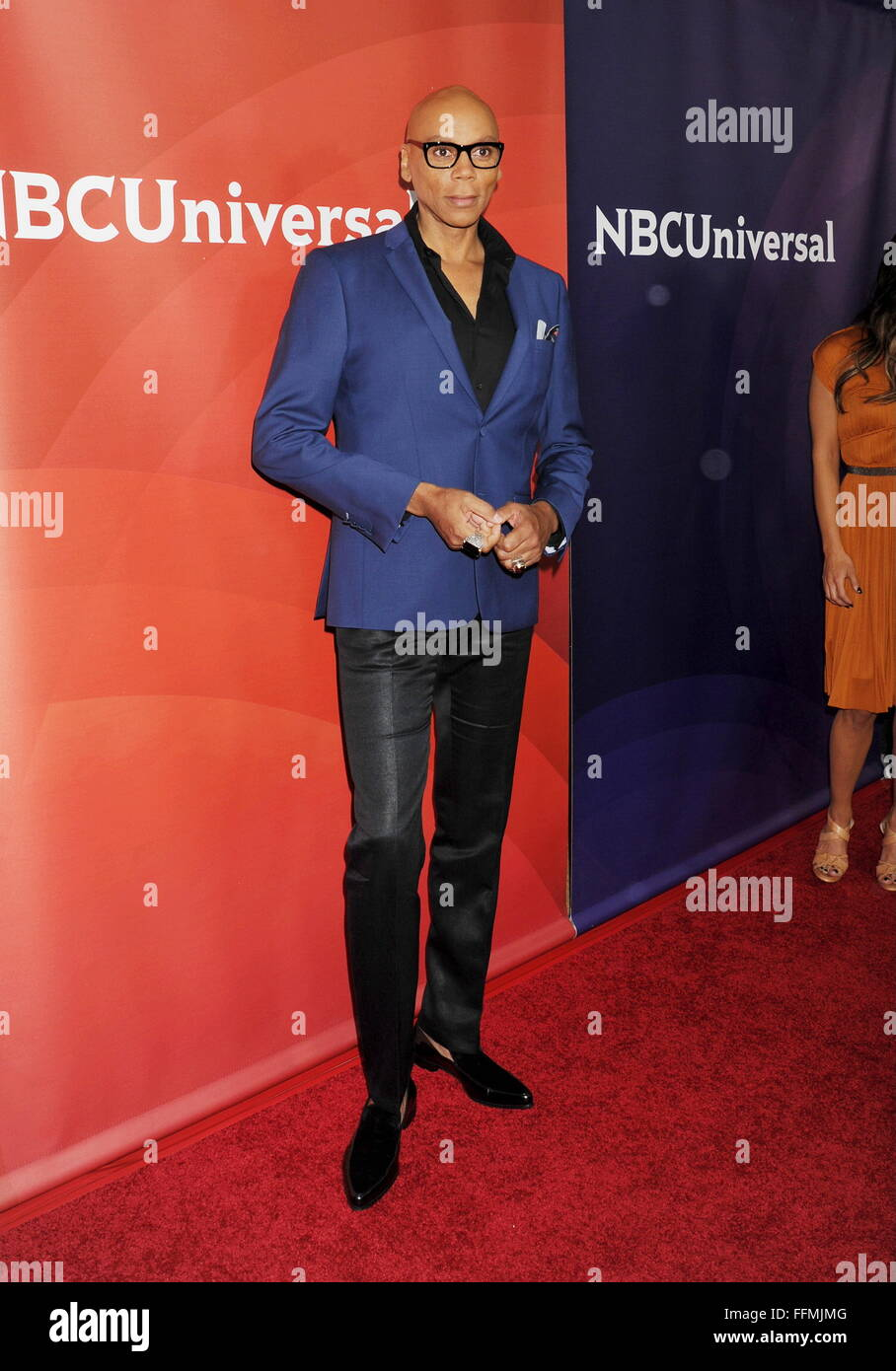 Actor RuPaul attends the 2015 NBCUniversal Summer Press Day held at the The Langham Huntington Hotel and Spa on - Stock Image