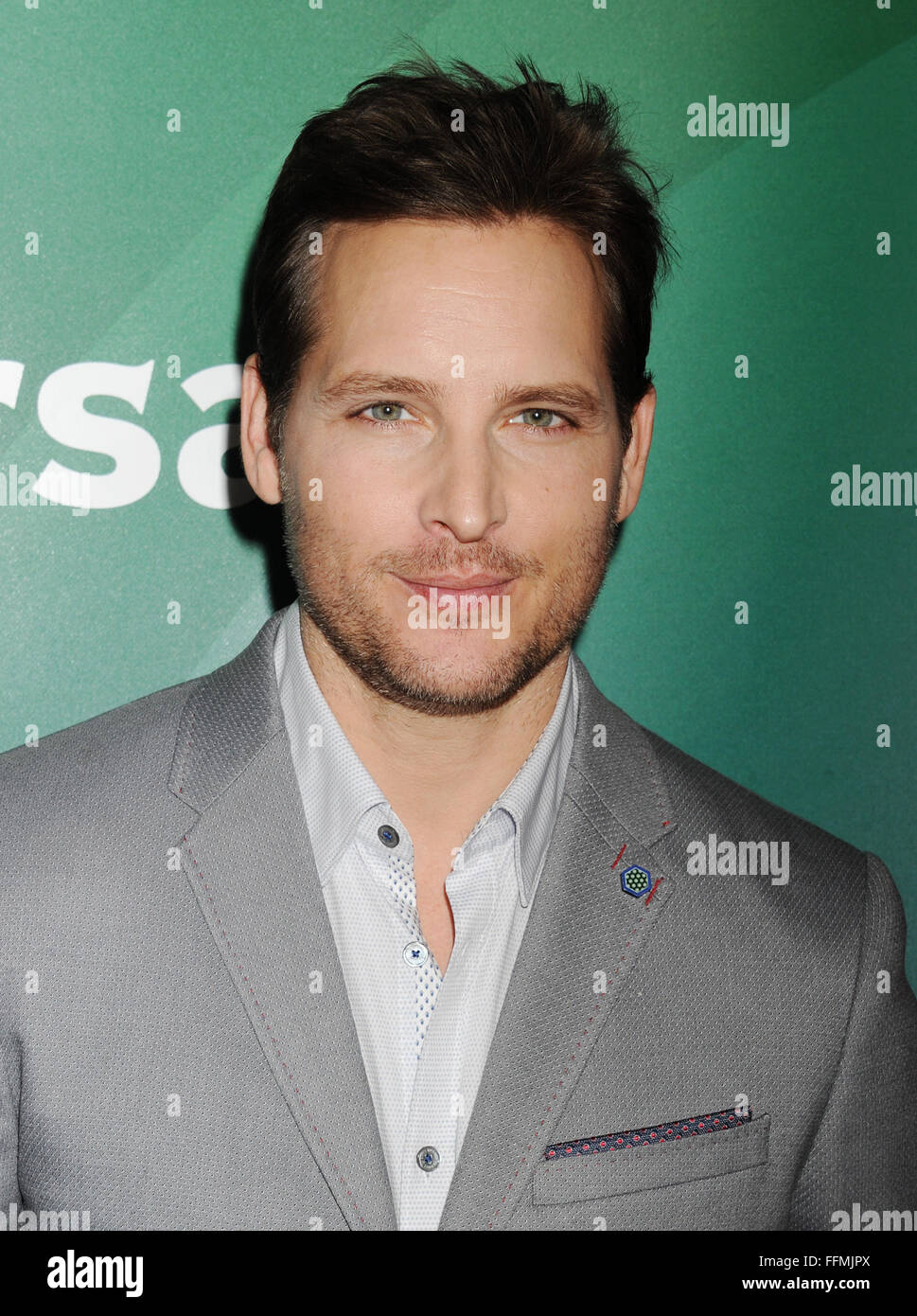 Actor Peter Facinelli attends the 2015 NBCUniversal Summer Press Day held at the The Langham Huntington Hotel and - Stock Image