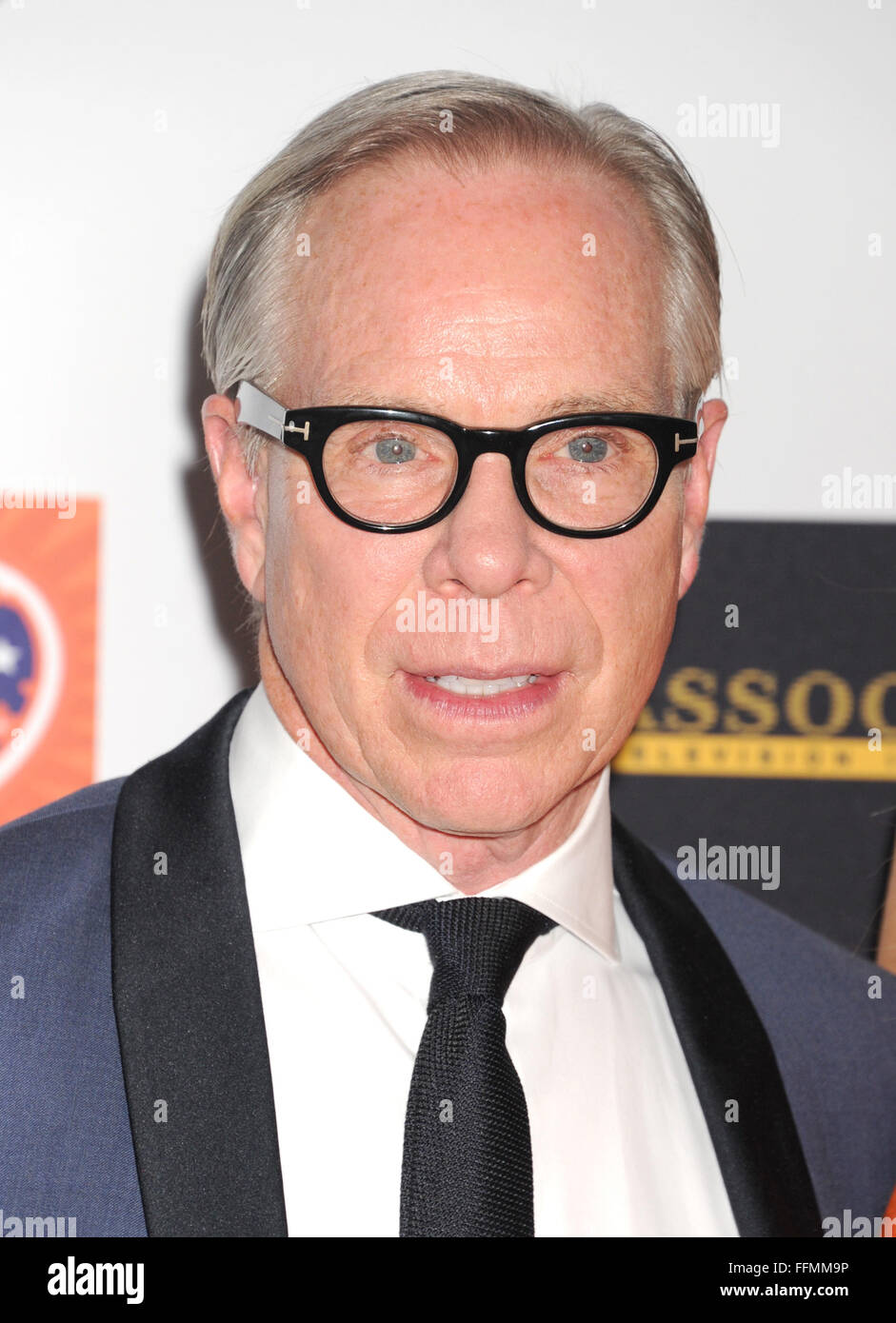 Designer Tommy Hilfiger arrives at the 22nd Annual Race To Erase MS at the  Hyatt Regency 30d3b09a9b8