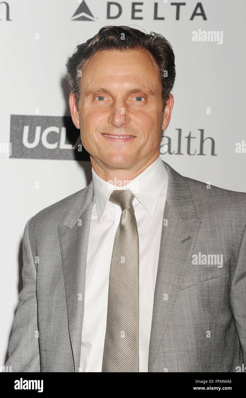 Actor Tony Goldwyn arrives at the 4th Annual Reel Stories, Real Lives event benefiting the Motion Picture & - Stock Image
