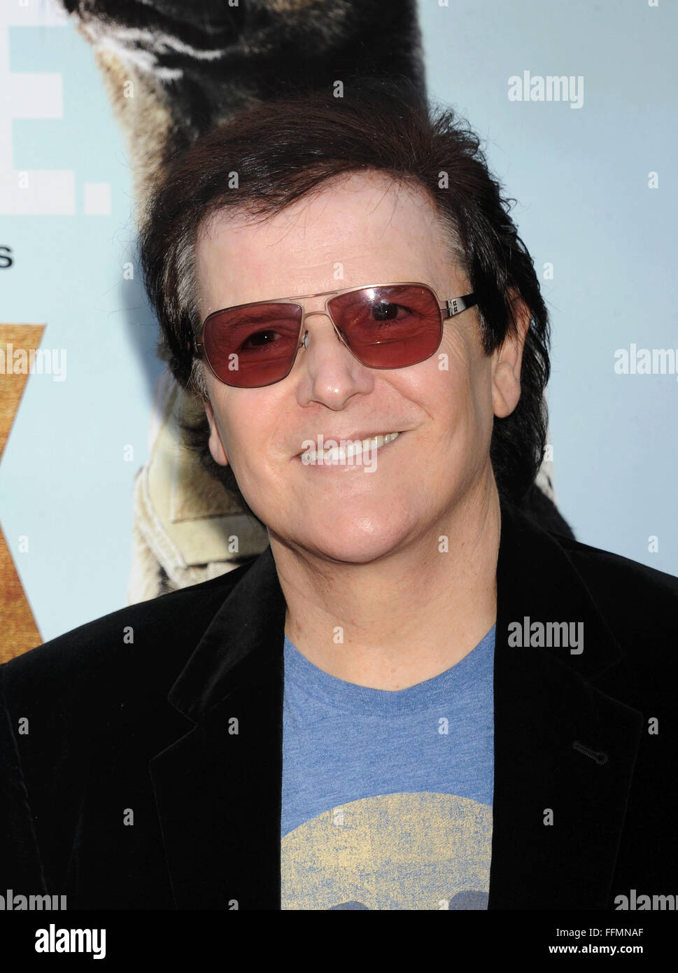 Composer/musician Trevor Rabin attends the Los Angeles premiere of 'MAX' at the Egyptian Theatre on June - Stock Image