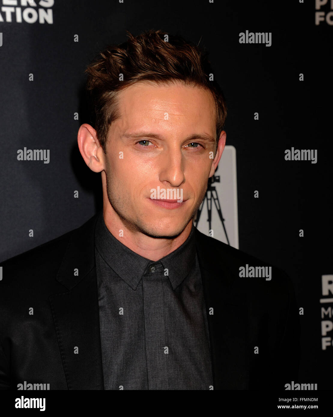 Actor Jamie Bell attends the Pioneer Dinner during 2015 CinemaCon at Caesars Palace on April 22, 2015 in Las Vegas, - Stock Image