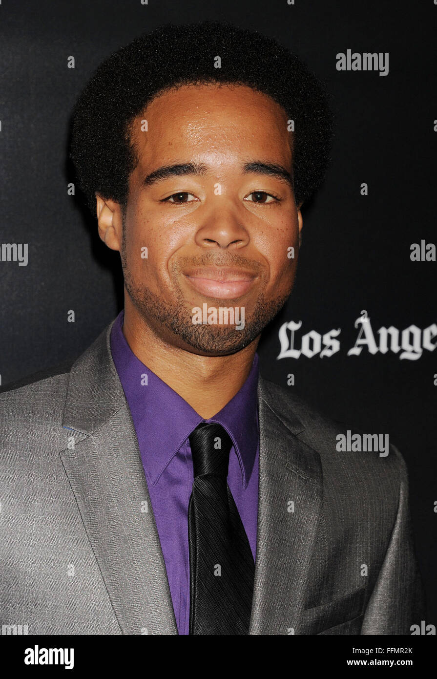 Actor Tory Thompson attends 'The Final Girls' screening during the 2015 Los Angeles Film Festival at Regal - Stock Image