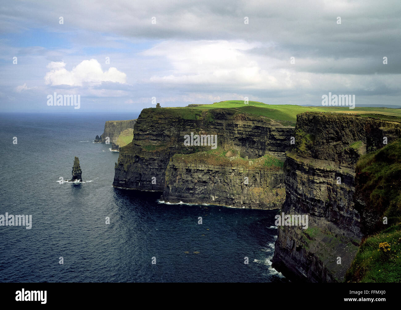 Cliffs of Moher Clare Ireland - Stock Image