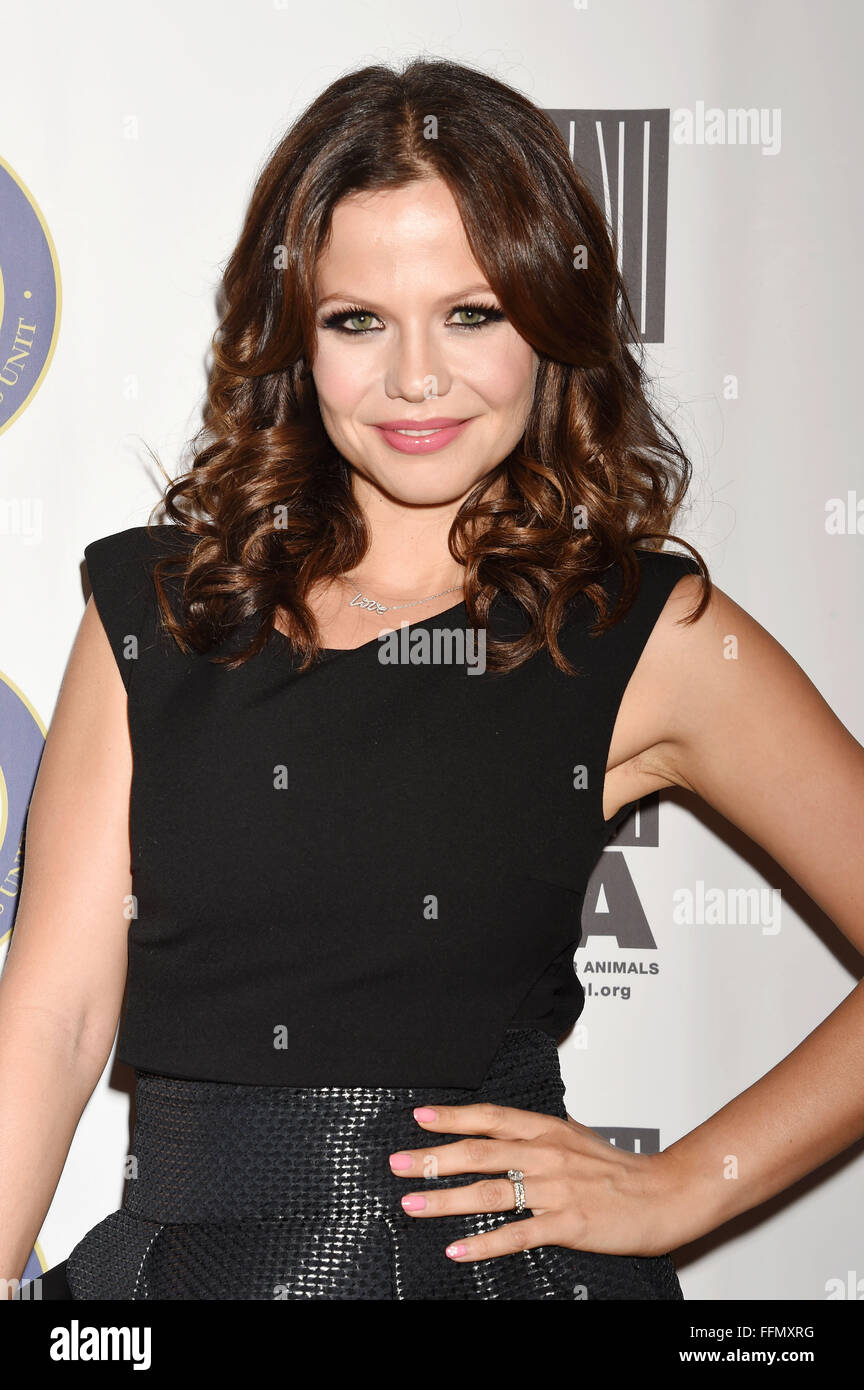 Actress Tammin Sursok attends the Last Chance for Animals Benefit Gala at The Beverly Hilton Hotel on October 24, - Stock Image