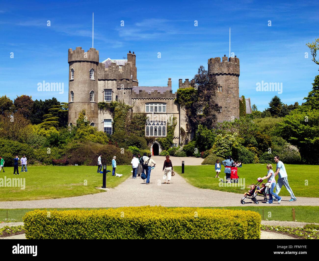 Malahide, Dublin - Stock Image