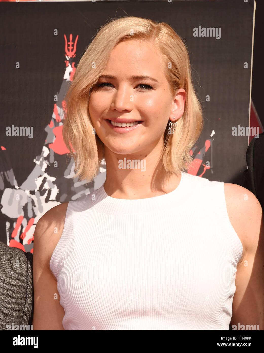 Jennifer Lawrence, 31.10.2015 - Stock Image
