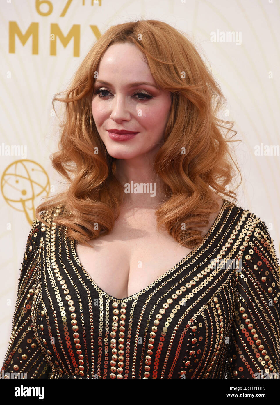 Christina Hendricks, 20.09.2015 - Stock Image