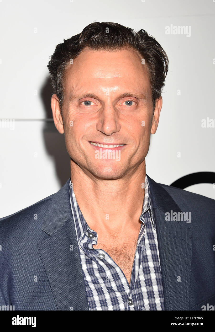 Actor Tony Goldwyn arrives at the Audi Celebrates Emmys Week 2015 at Cecconi's on September 17, 2015 in West - Stock Image