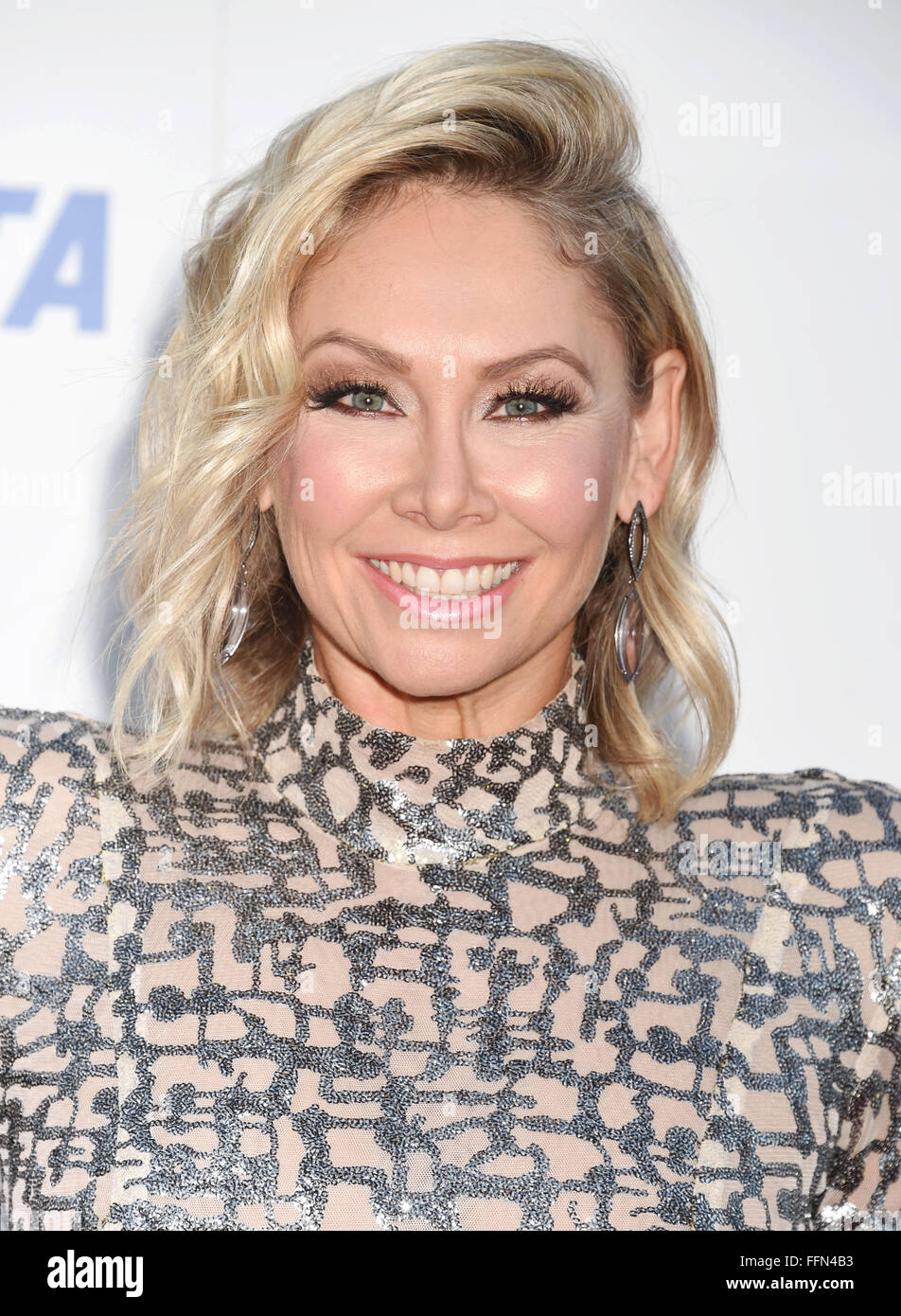 TV personality/dancer Kym Johnson arrives at PETA's 35th Anniversary Party at Hollywood Palladium on September - Stock Image