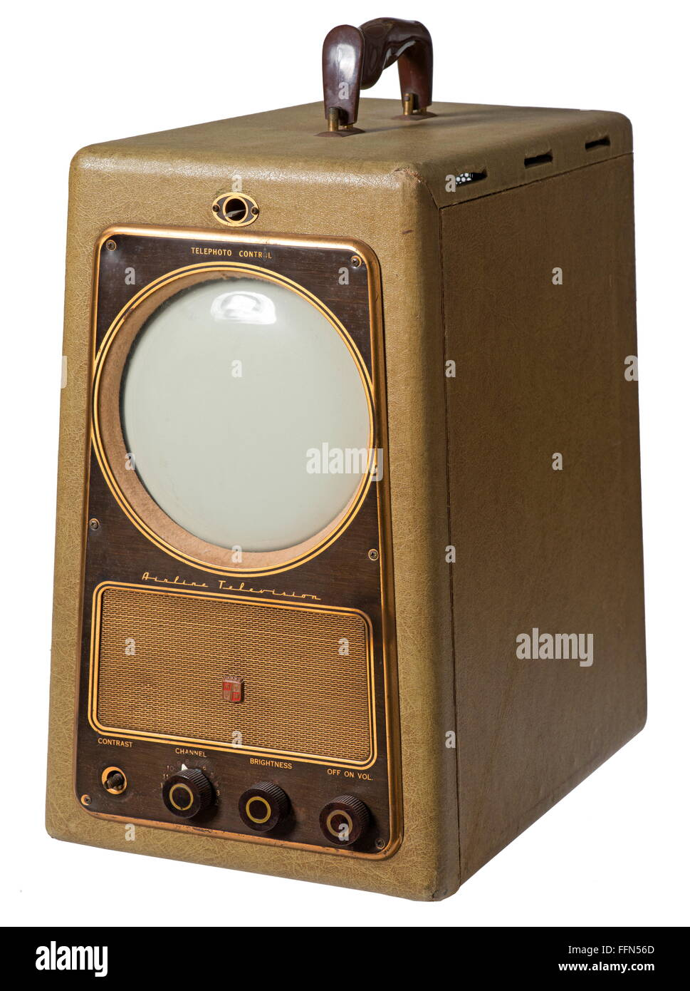 Broadcast Television Airline Television Version 94gse 3015a Stock