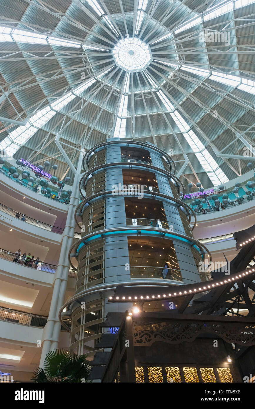 Inside the Petronas Towers Shopping Mall, Kuala Lumpur, Southeast Asia - Stock Image