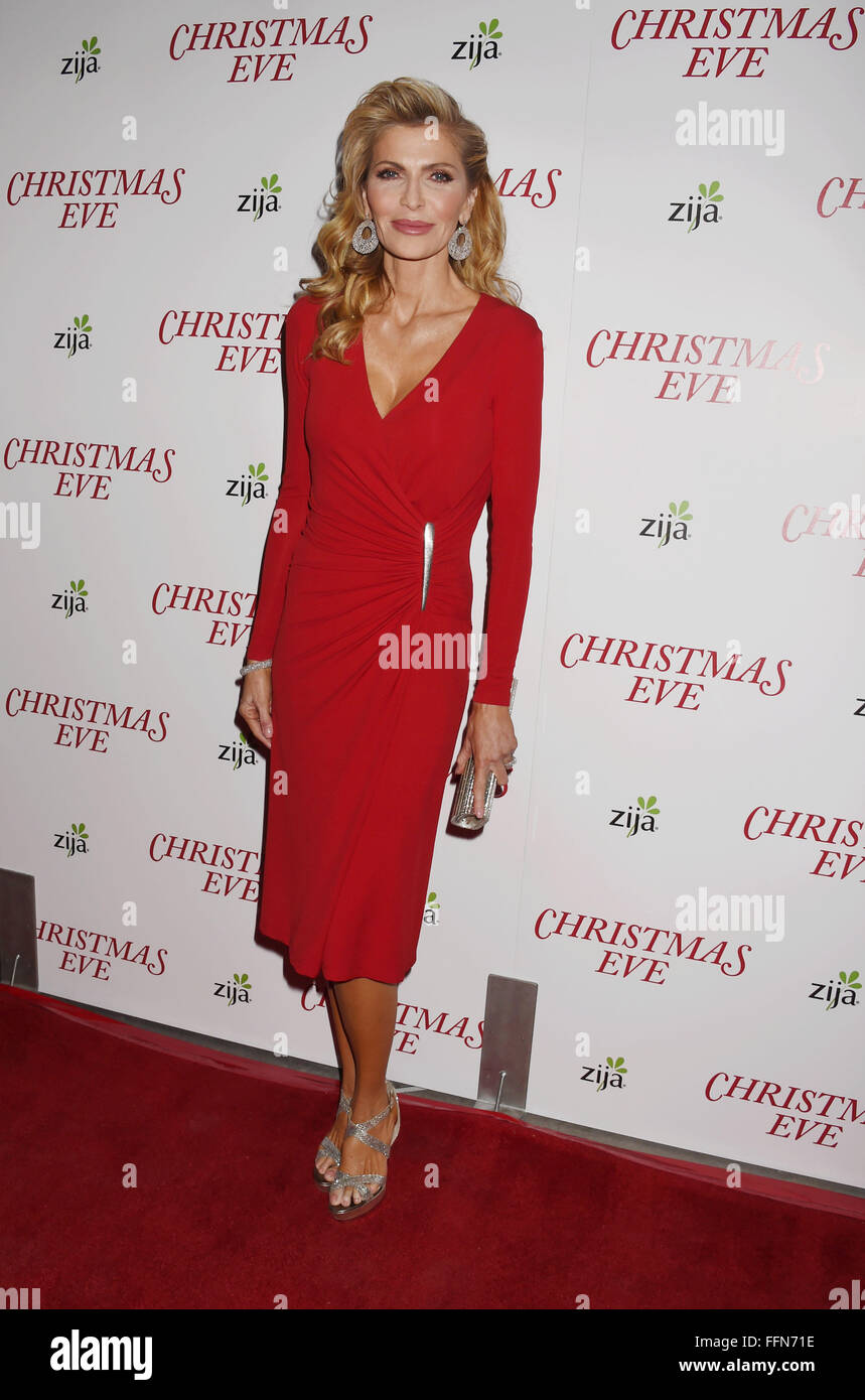 Producer Shawn King arrives at the premiere of Unstuck's 'Christmas Eve' at the ArcLight Hollywood on - Stock Image