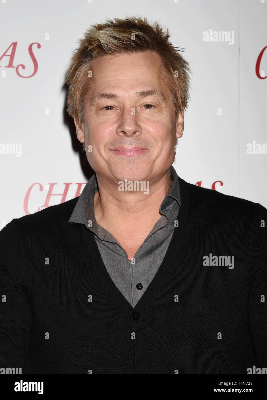 Radio/TV personality Kato Kaelin arrives at the premiere of Unstuck's 'Christmas Eve' at the ArcLight - Stock Image