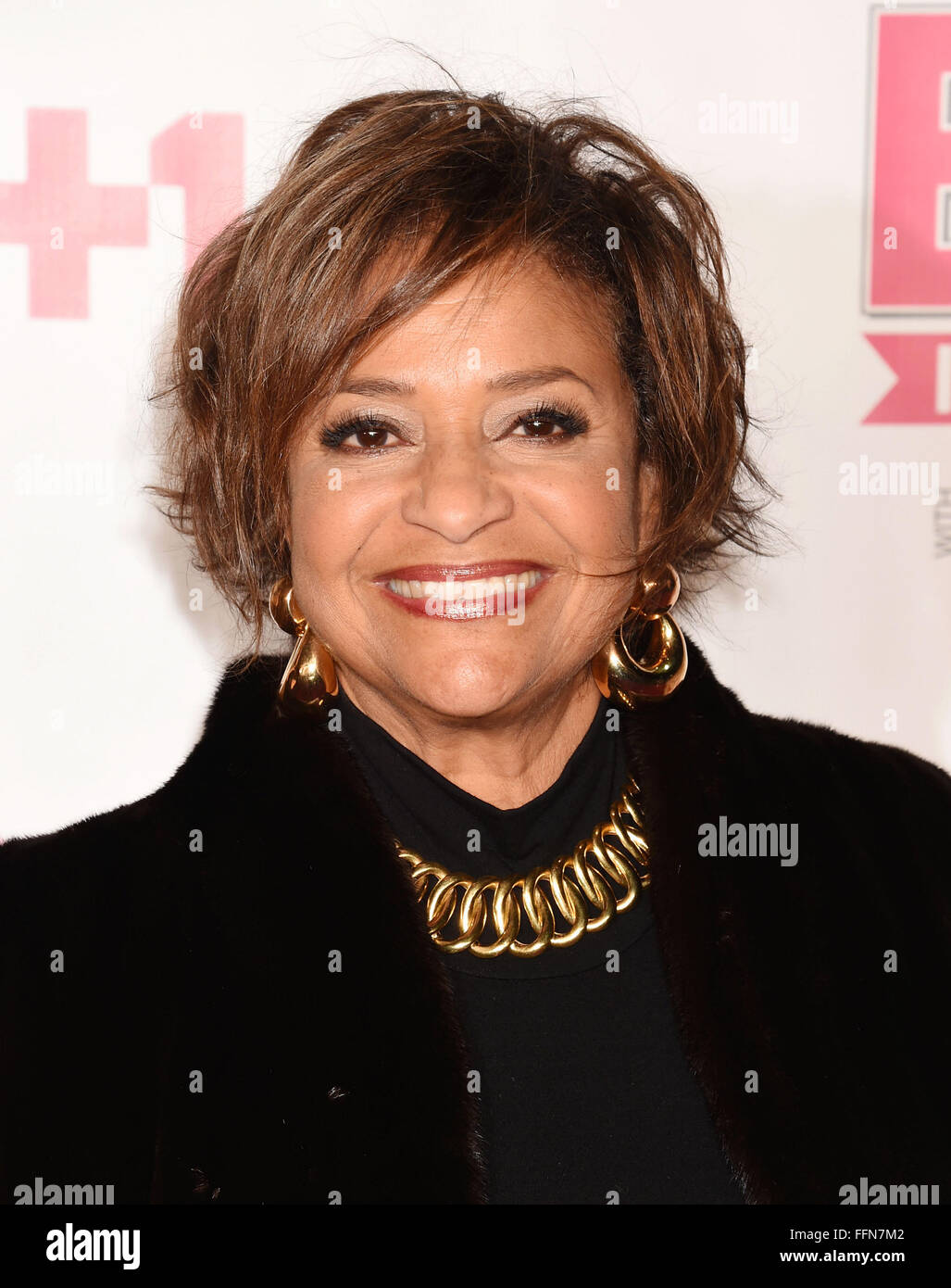Actress/dancer/choreographer Debbie Allen attends VH1 Big In 2015 With Entertainment Weekly Awards at Pacific Design - Stock Image
